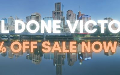 60% MaskPac discount starts right NOW!  Victoria's coming out of lockdown and we are celebrating
