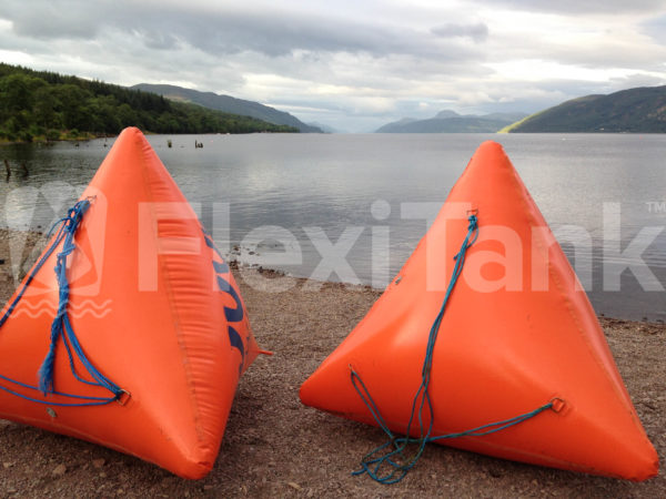 Pyramid marker buoys