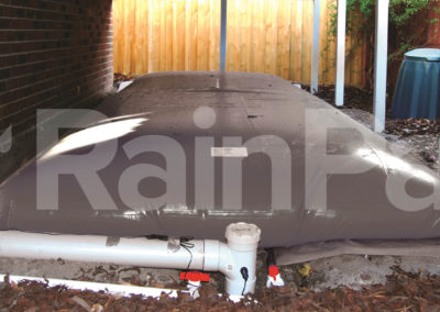 RainPac underhouse rainwater bladder