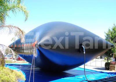 250,000 litre collapsible water frac pillow tanks