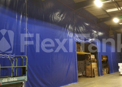 Warehouse curtains can fit any height