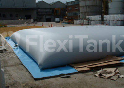 59,000 litre mud slurry pillow tank storage