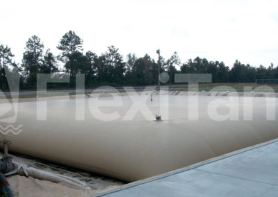 460,000 litre pillow tank for diesel fuels