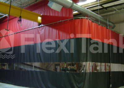 Warehouse curtain customisation