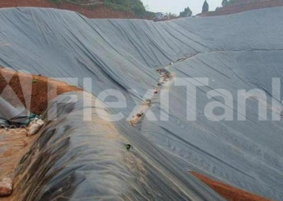 Dam liners can handle all inclines