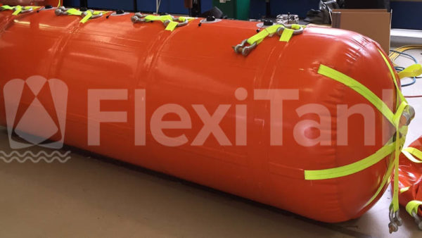2.5 tonne lift bags side view