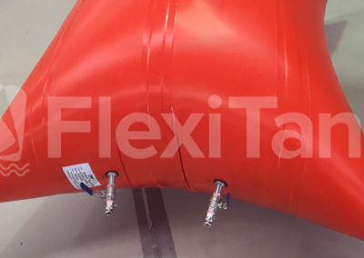 1000kg pillow tank lift bags in testing
