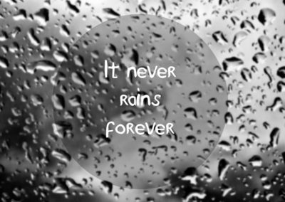 RainPac - it never rains forever