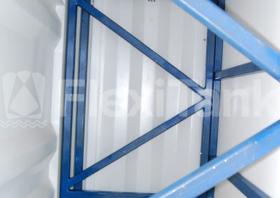 Container liner recessed bulkheads suit all containers