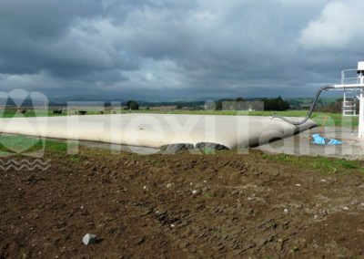 156,000 litre pillow tank