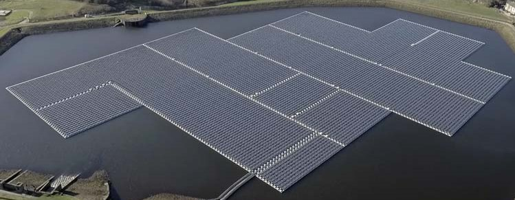 Floating solar power's potential in the USA