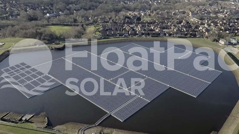 Greener pastures with floatovoltaic energy
