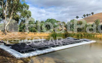 FloatPac Solar completes our first floating solar installation