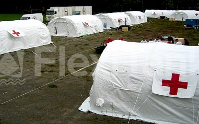 IsoTent inflatable medical tents and shelters now available from FloatPac