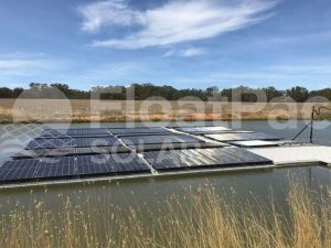 Floating solar by FloatPac Solar
