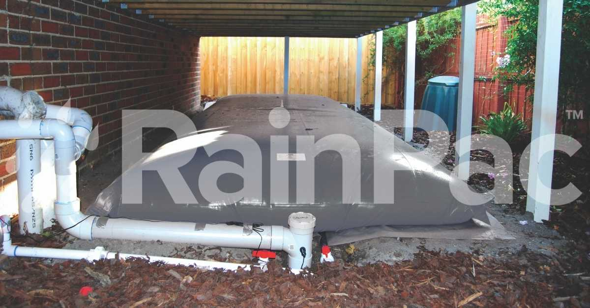 FloatPac underhouse rainwater bladder tanks by RainPac | 100% Australian Made and Owned